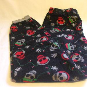 Other - Christmas Skulls Pyjama Pants Back 100% Cotton Lar